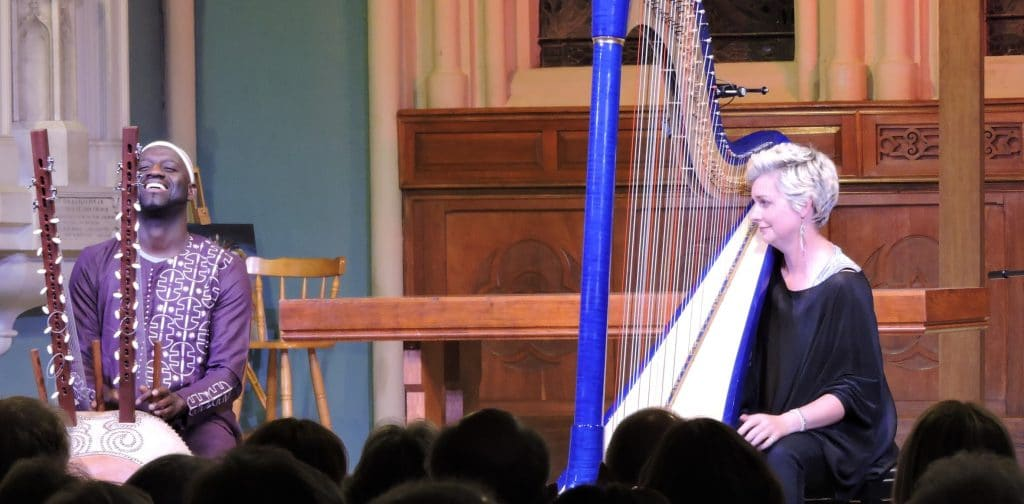 Catrin Finch & Seckou Keita Exquisite music from 'Soar' Opening concert